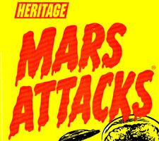 Mars Attacks Heritage Sketch Cards