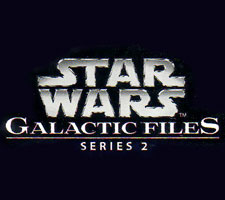 Star Wars Galaxtic Files 2 sketch cards